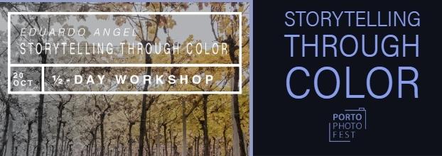 Eduardo Angel Workshop: Storytelling through Color