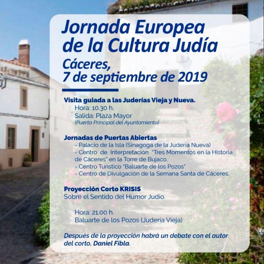 Jornada Europea de la Cultura Judía 2019 | CÁCERES