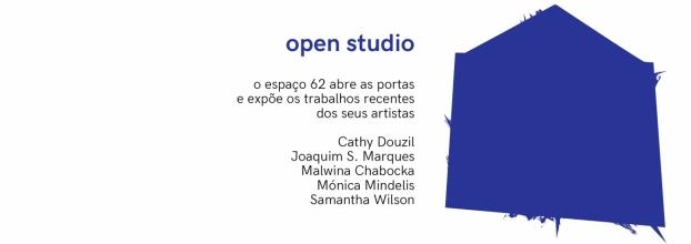 Open Studio no Espaço 62