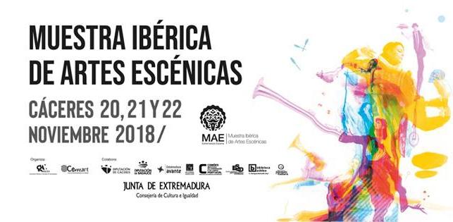 MAE Muestra Ibérica de Artes Escénicas | MIÉRCOLES, 21 DE NOVIEMBRE