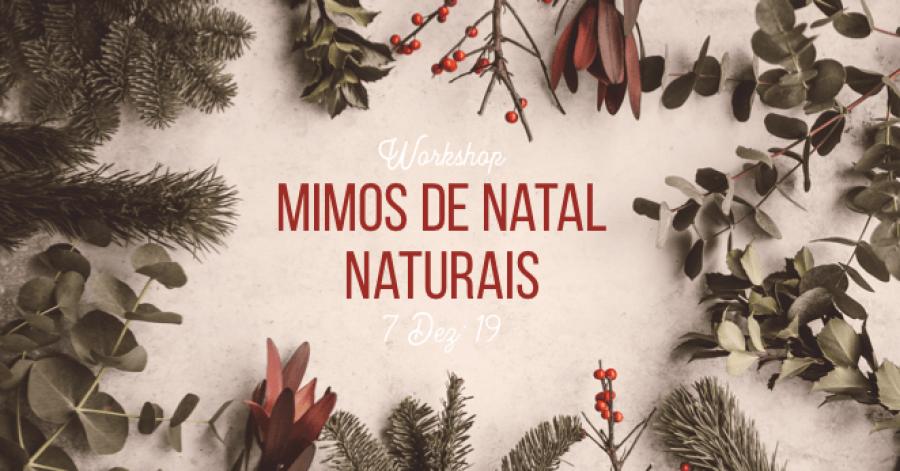 Mimos de Natal Naturais