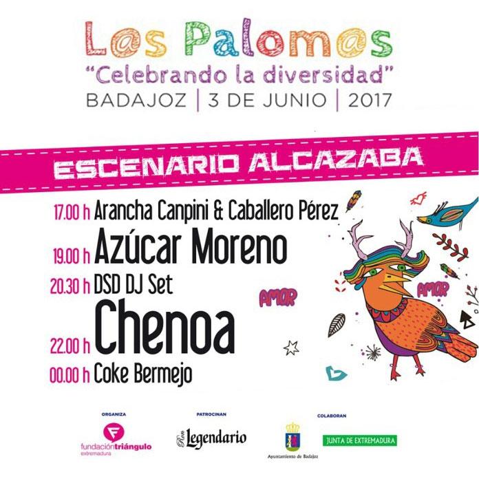 ESCENARIO ALCAZABA // Los Palomos 2017
