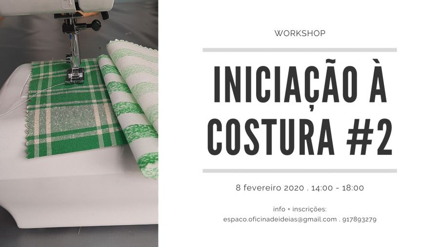 Workshop 'Iniciação à Costura' #2
