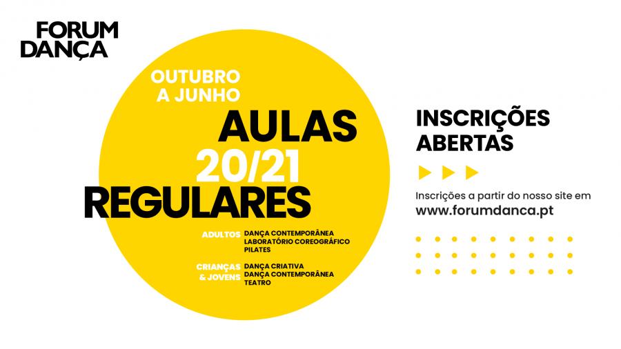 AULAS REGULARES DO FORUM DANÇA 2020/21