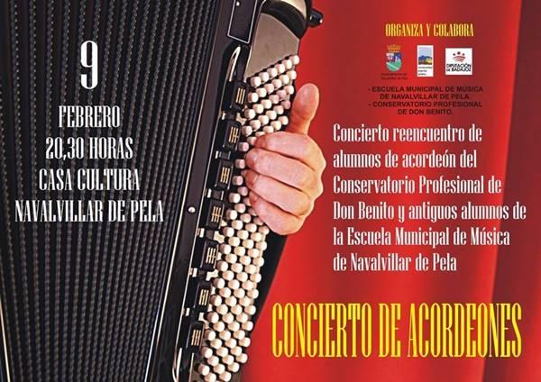 CONCIERTO DE ACORDEONES || NAVALVILLAR DE PELA
