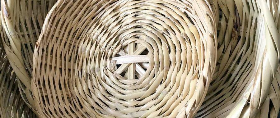 Iniciação à cestaria de cana