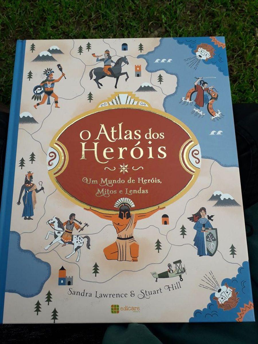 ÀS PÁGINAS TANTAS.... QUANTAS? | O Atlas dos Heróis