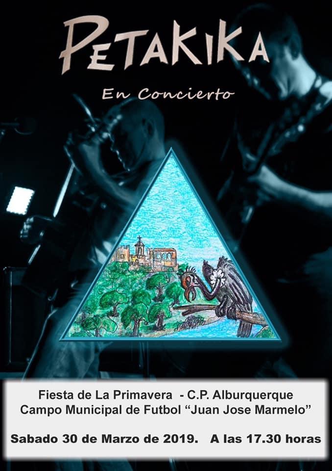 Petakika en concierto | Fiesta de la Primavera - C.P. Alburquerque