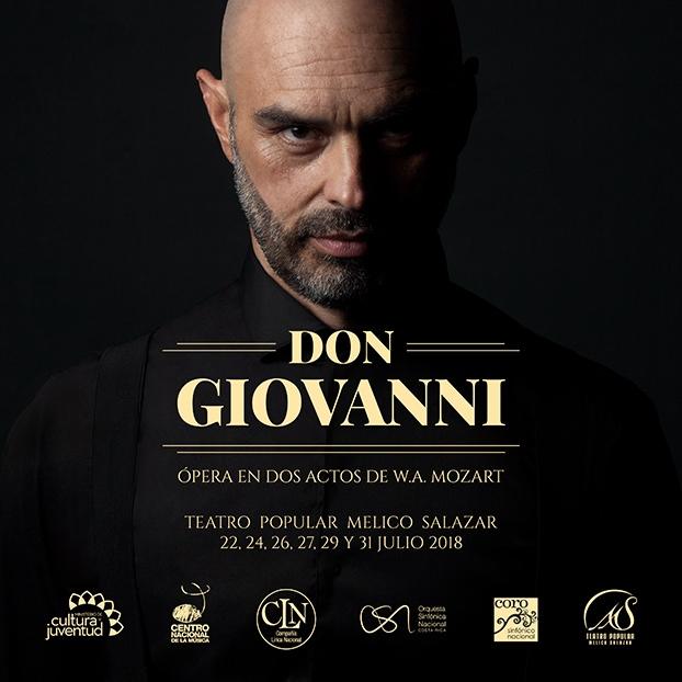 Don Giovanni, ópera de W.A. Mozart. Compañía Lírica Nacional