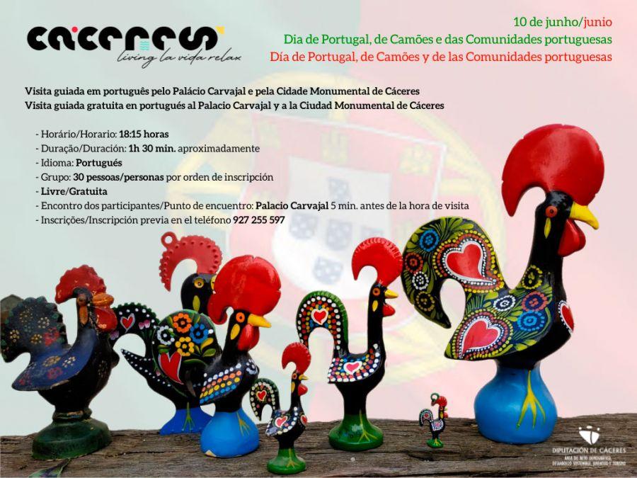 DÍA DE PORTUGAL: Visita guiada gratuita en portugués.