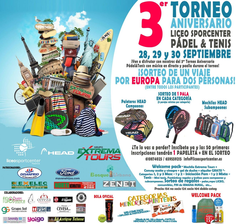 III Torneo Pádel & Tenis