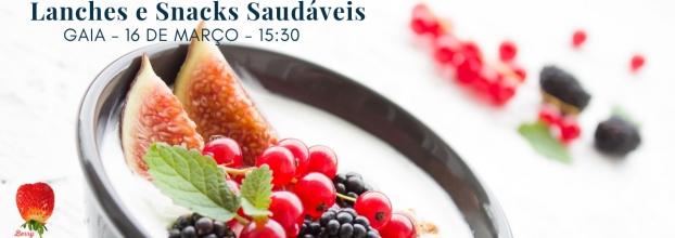 Workshop de Lanches e Snacks Saudáveis