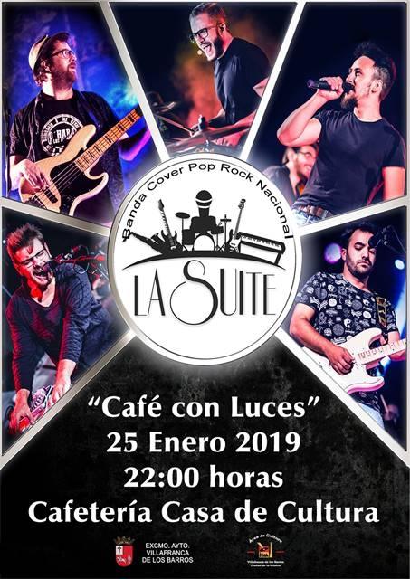 Café con Luces 'LA SUITE'