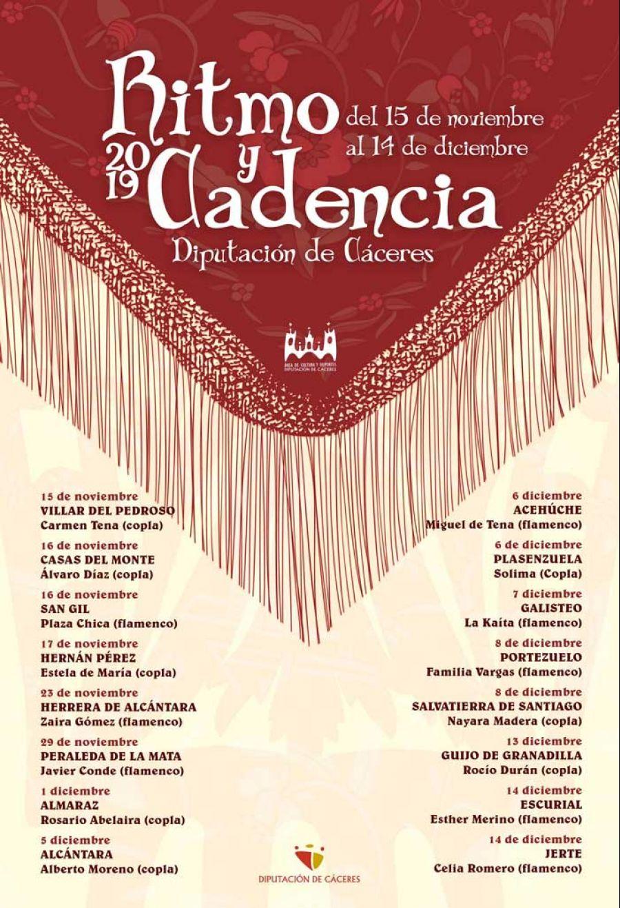 RITMO Y CADENCIA 2019 | Herrera de Alcántara