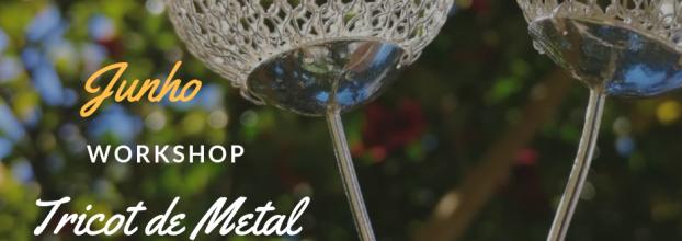 Workshop de Tricot em metal para joalharia