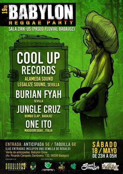 BABYLON REGGAE PARTY