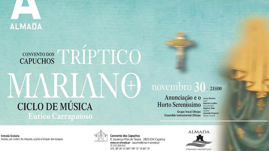 Tríptico Mariano de Eurico Carrapatoso -1º Concerto dedicado à Anunciação da Virgem