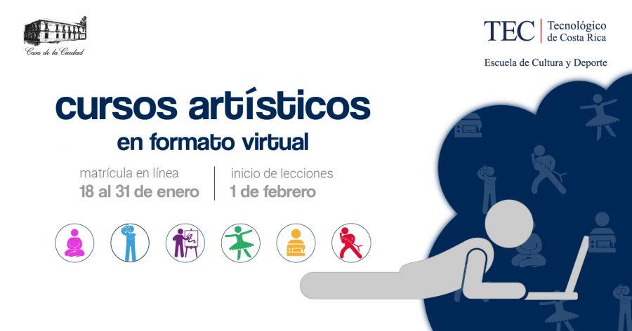 Matrícula. Cursos Artísticos 1-2021