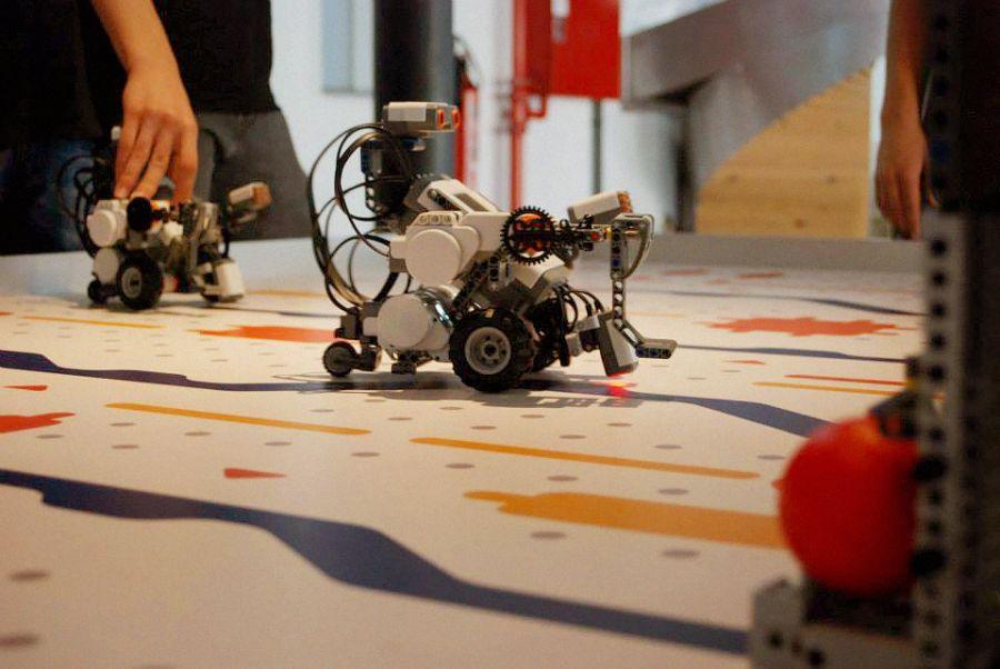 Oficina dos Robôs - Lego Mindstorm NXT