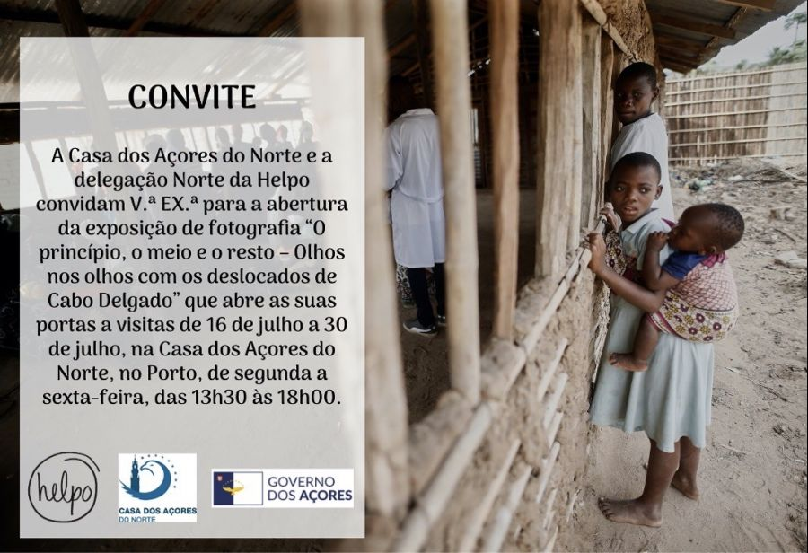 """""""O princípio, o meio e o resto – Olhos nos olhos com os deslocados de Cabo Delgado"""""""