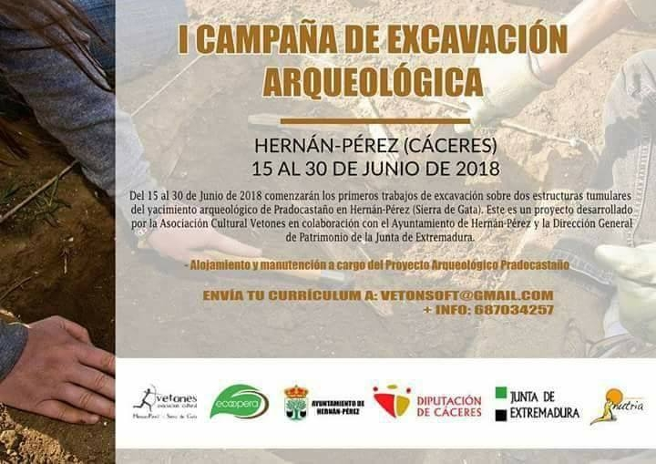 I CAMPAÑA DE EXCAVACIÓN ARQUEOLÓGICA