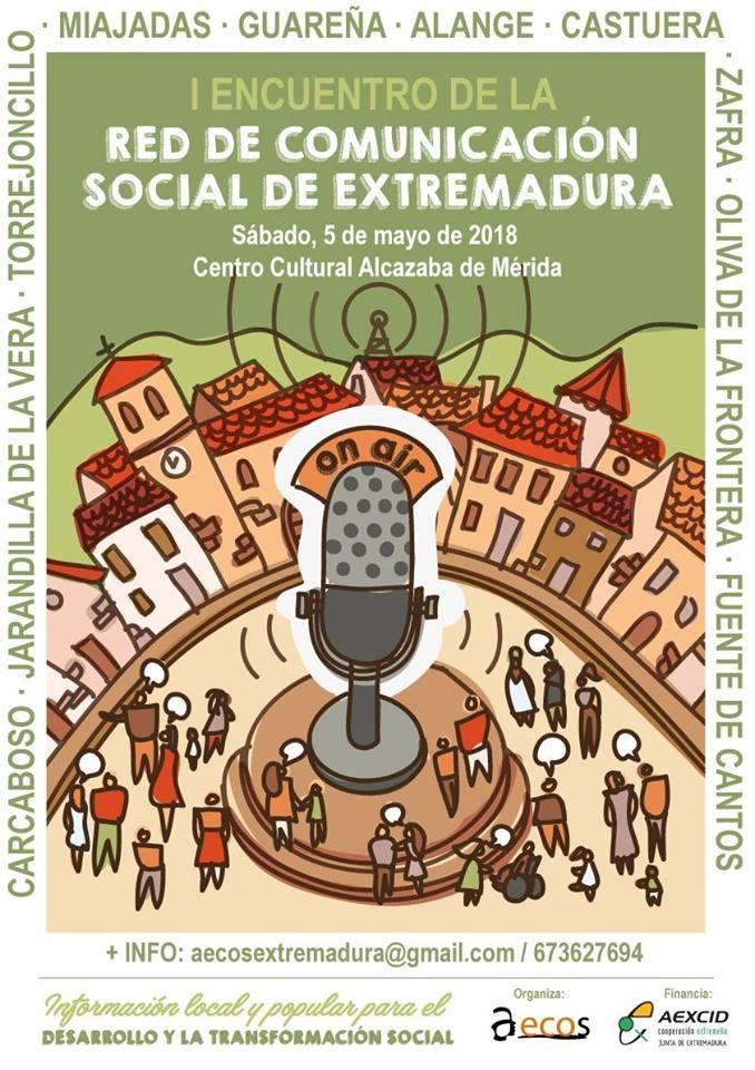 I Encuentro de la Red de Comunicación Social de Extremadura