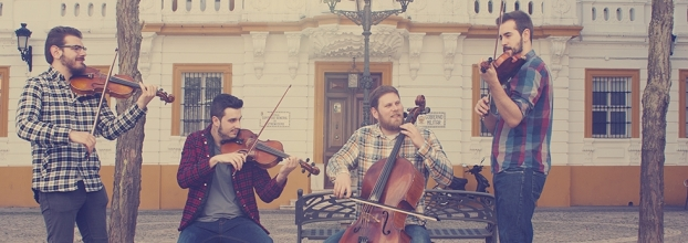 Festival Internacional Folk Plasencia: Busker String Quartet