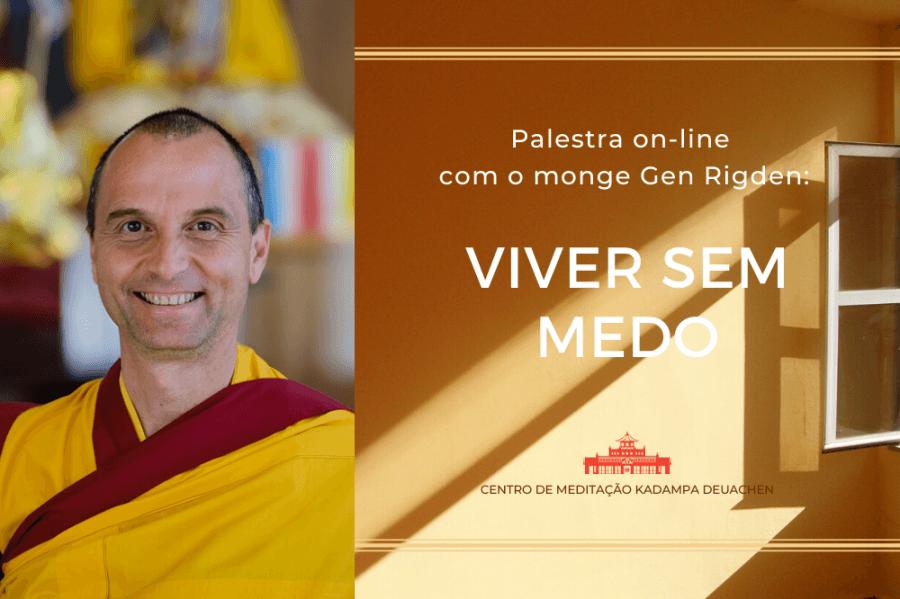 Palestra on-line: Viver sem Medo