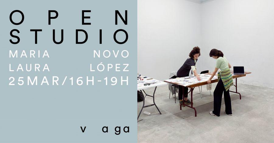 Open studio - Maria Novo e Laura López