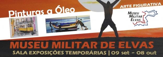 Vítor Ferreira expõe no Museu Militar de Elvas