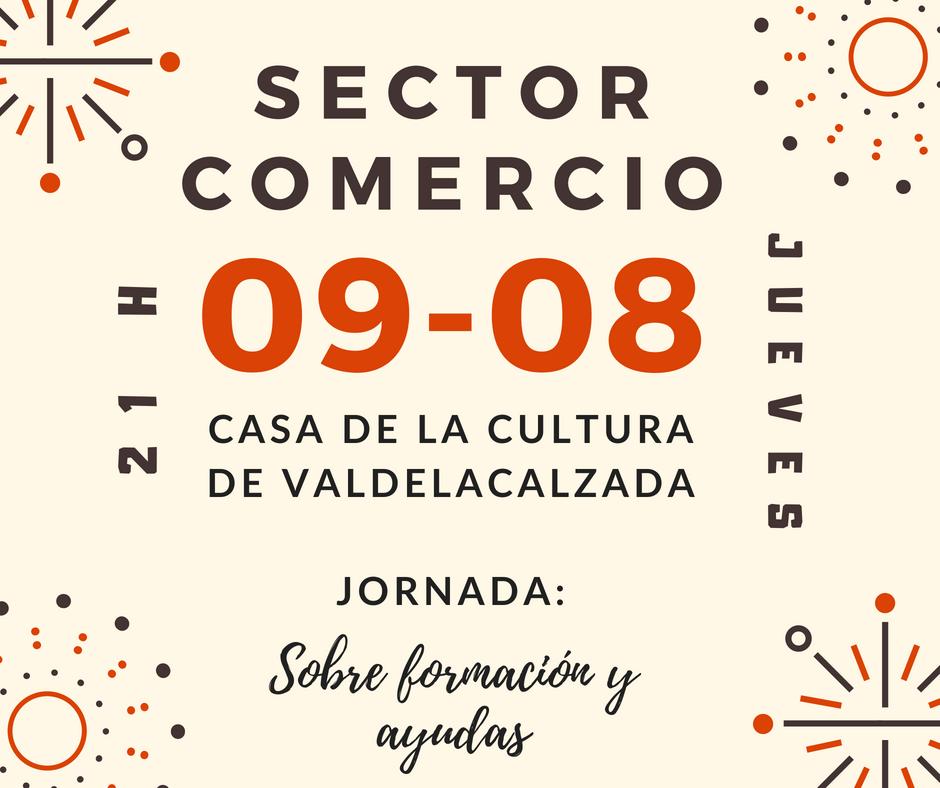Jornada sobre formación y ayudas en comercio minorista    Valdelacalzada