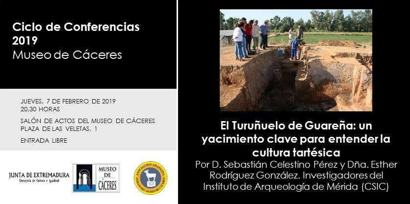 Conferencia sobre el yacimiento de Casas del Turuñuelo