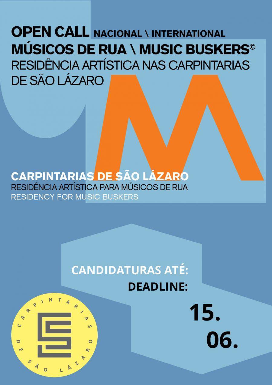 OPEN CALL MUSIC BUSKERS / MÚSICOS DE RUA
