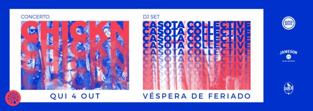 CHICKN + CASOTA COLLECTIVE DJ SET - STEREOGUN