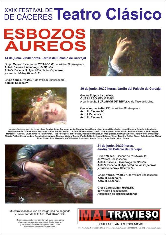 ESBOZOS ÁUREOS // PALACIO DE CARVAJAL