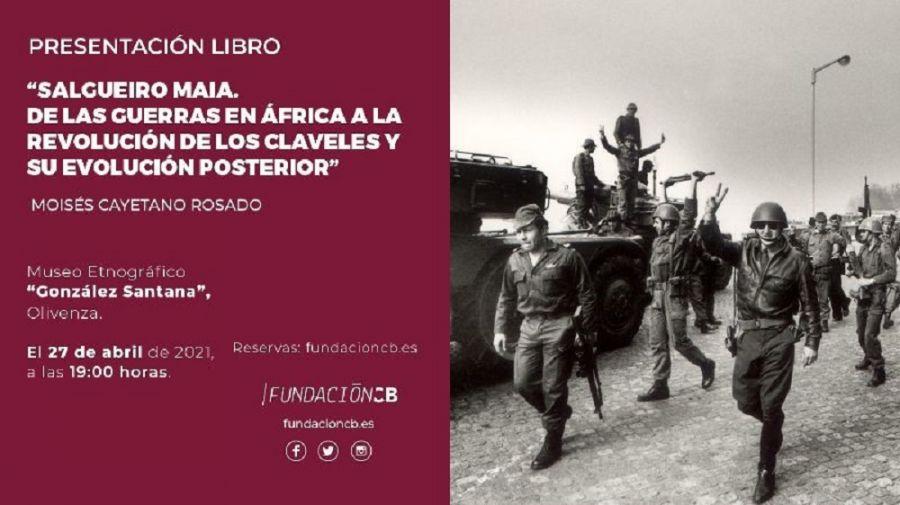 Presentación libro 'Salgueiro Maia. De las guerras en África a la Revolución de los Claveles ...'