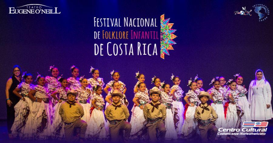 FESTIVAL NACIONAL DE FOLKLORE INFANTIL DE COSTA RICA