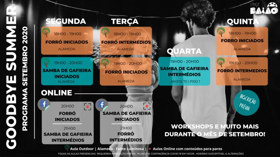 Aulas de Forró e Samba de Gafieira