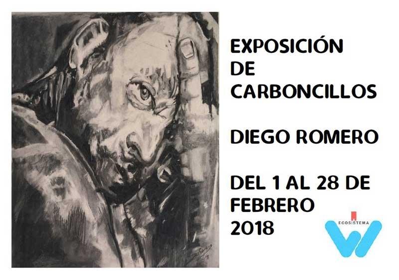 Inauguracion Exposicion de Carboncillos de Diego Romero