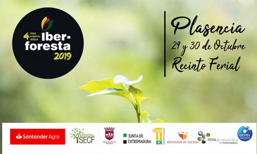 Feria Forestal Ibérica IBER-FORESTA. 29 y 30 de octubre. Plasencia (Cáceres)