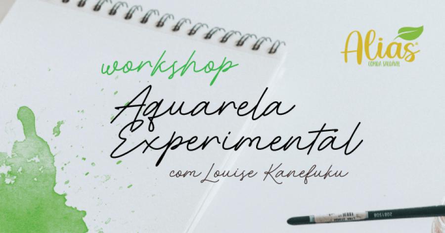 Workshop de Aquarela Experimental | Experimental Watercolour