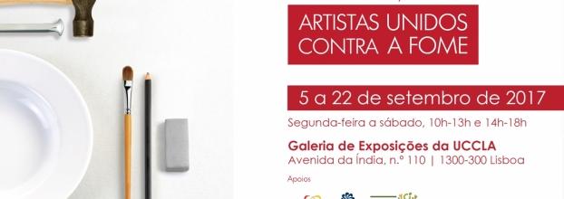 """Exposição """"Artistas Unidos contra a Fome"""""""