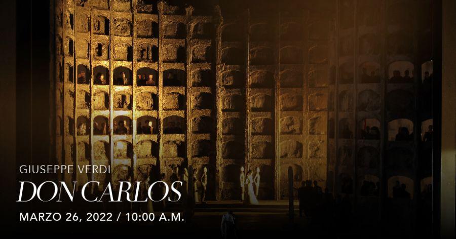 Don Carlos (Verdi). Met Live in HD