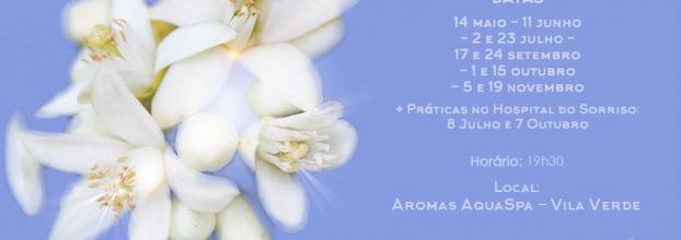 Curso Aromaterapia Biológica nível I - Vila Verde