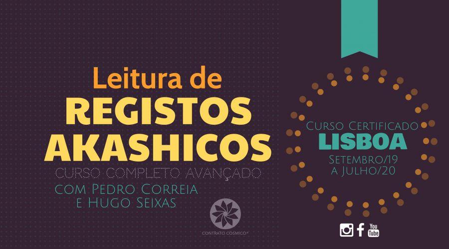 Registos Akashicos - Curso Avançado | Lisboa