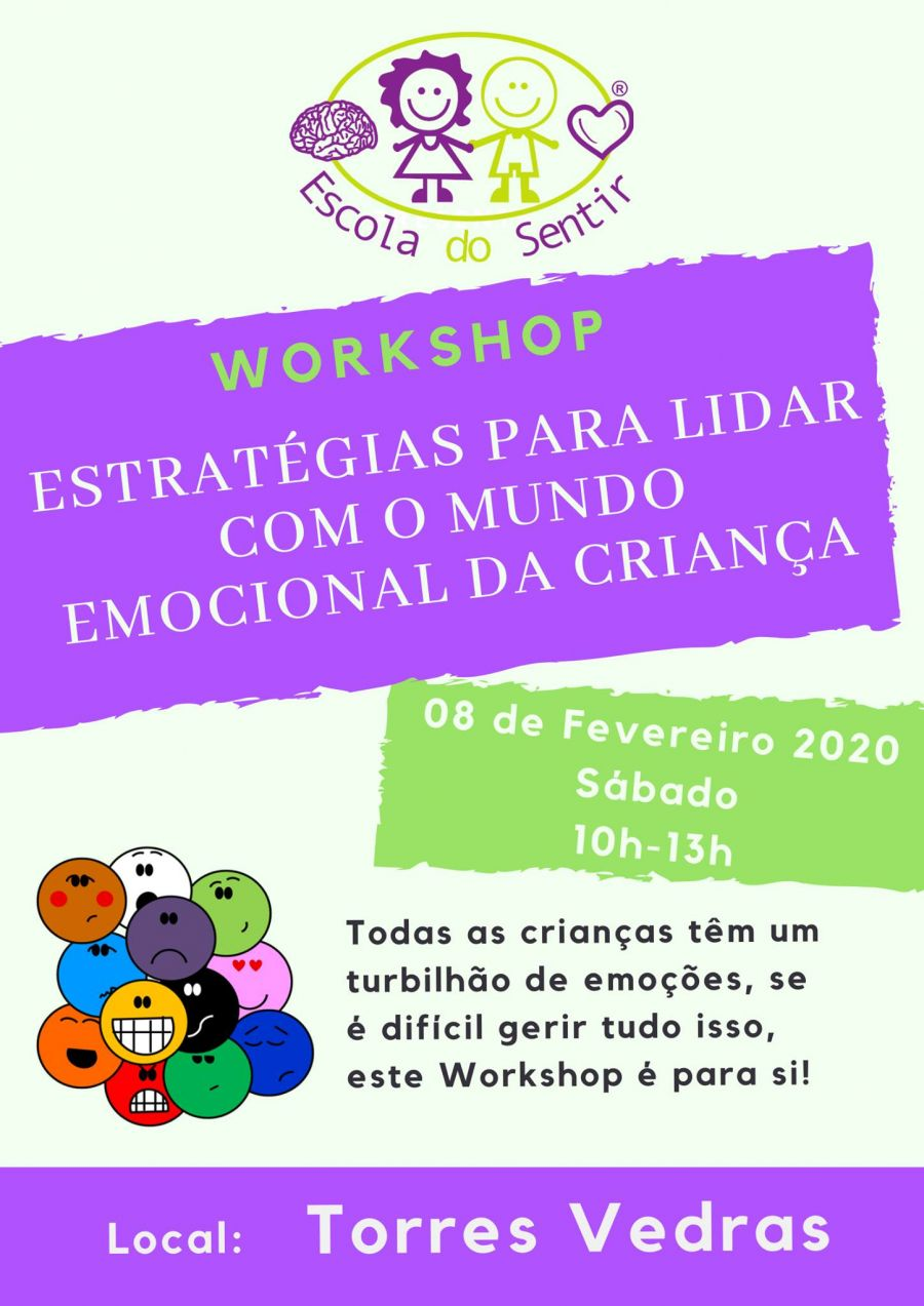 Workshop 'Estratégias para lidar com o mundo emocional da criança'