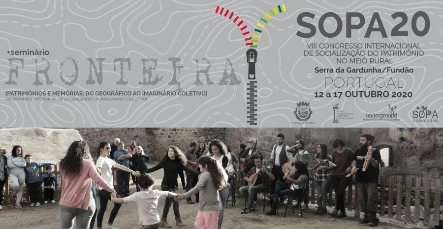 SOPA20: VIII CONGRESSO INTERNACIONAL DE SOCIALIZAÇÃO DO PATRIMÓNIO NO MEIO RURAL