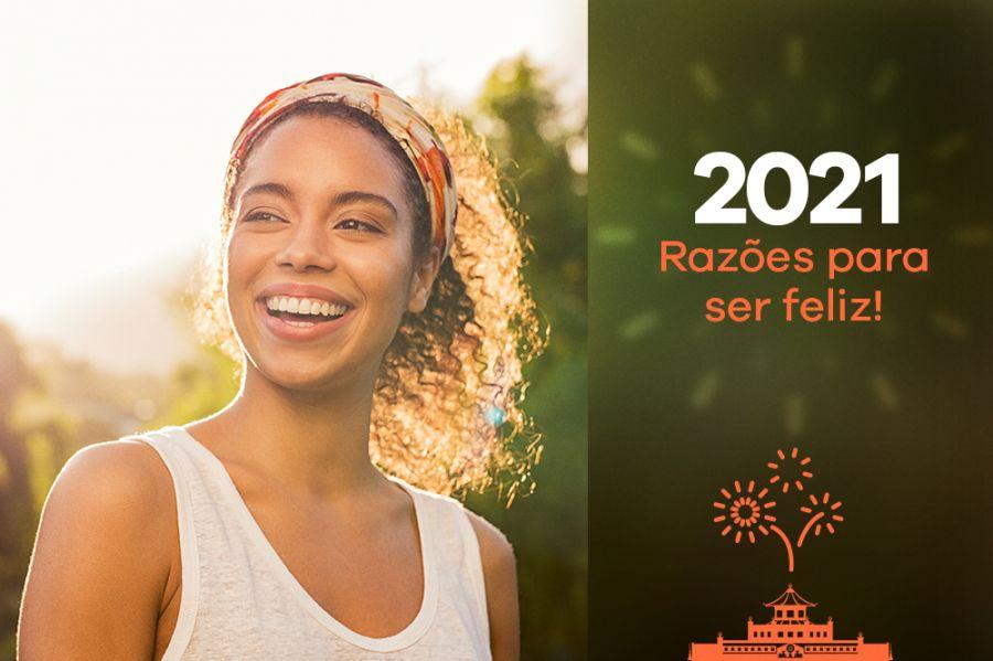 2021 Razões para Ser Feliz! Palestra com o monge budista Gen Rigden