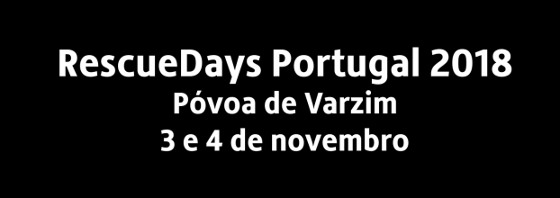 RescueDays Portugal 2018 - RescueDays