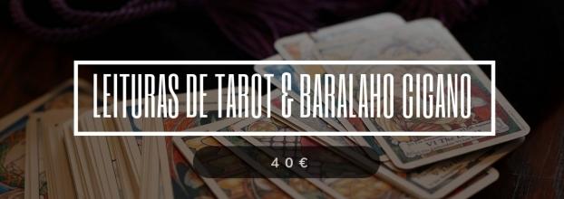 Tarot, Baralho Cigano e Oráculo dos Anjos